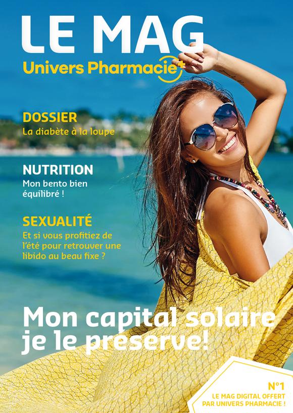 Votre magazine santé et bien-être offert par Univers Pharmacie.
