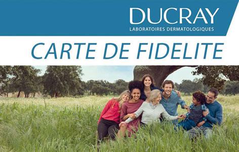 Carte de fidélité Ducray