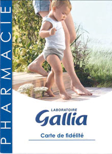 Carte de fidélité Gallia