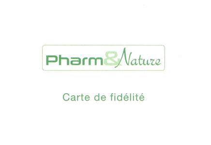 Carte de fidélité Pharm&Nature