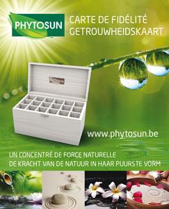 Carte de fidélité Phytosun
