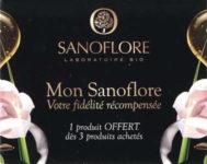Carte de fidélité Sanoflore