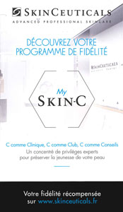 Carte de fidélité Skinceuticals