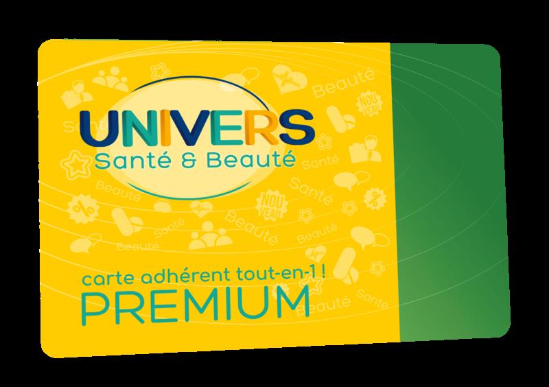 Carte adhérent tout-en-1 Premium